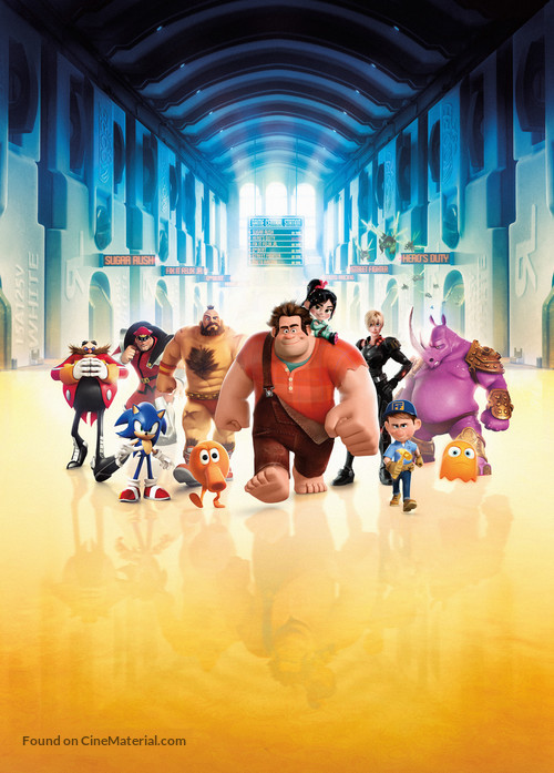 Wreck-It Ralph - Key art