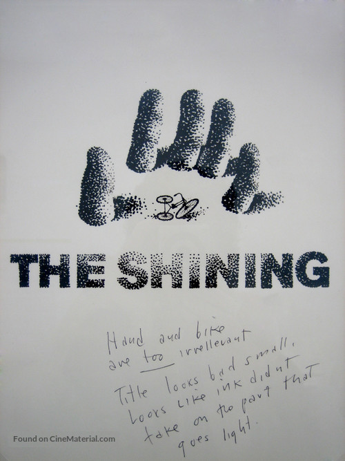 The Shining - Concept movie poster