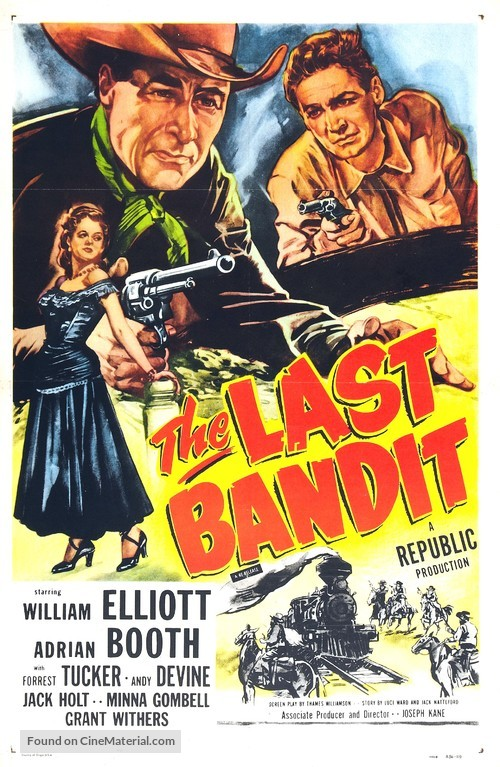 The Last Bandit - Movie Poster