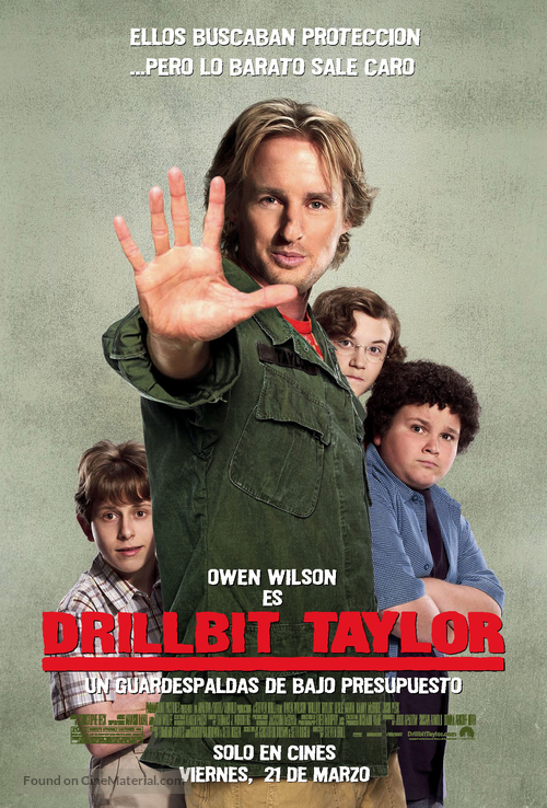 Drillbit Taylor - Mexican Movie Poster