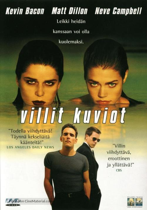 Wild Things - Finnish DVD movie cover
