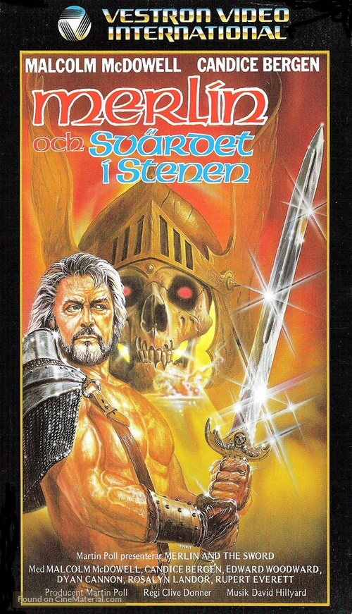 Arthur the King - Swedish VHS movie cover