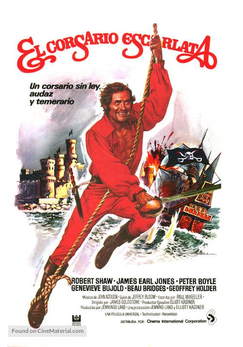 Swashbuckler - Spanish Movie Poster