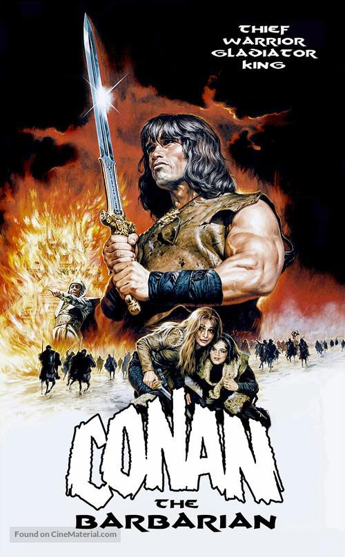 Conan The Barbarian - Movie Poster