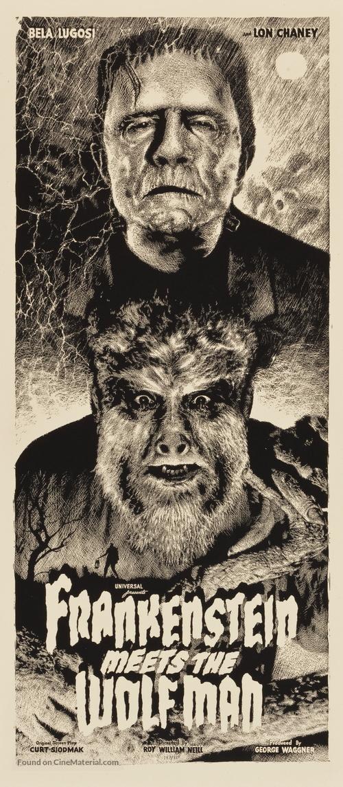 Frankenstein Meets the Wolf Man - Movie Poster