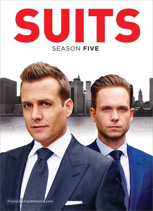 """""""Suits"""" - DVD movie cover"""