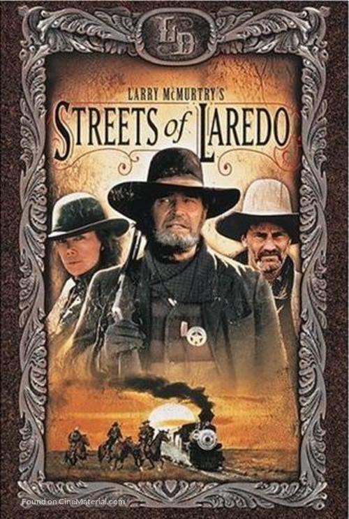 """Streets of Laredo"" - DVD movie cover"