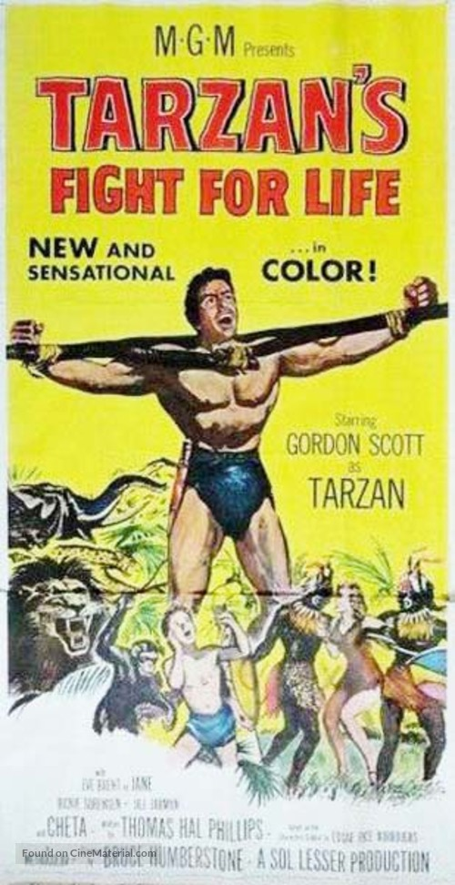 Tarzan's Fight for Life - Movie Poster