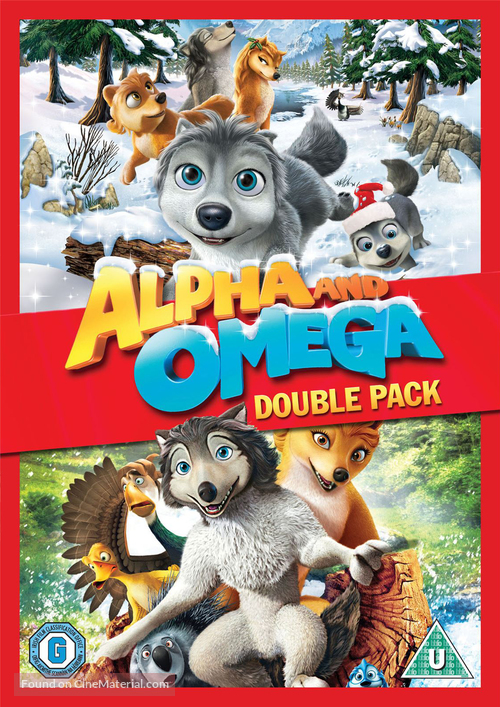 Alpha and Omega 2: A Howl-iday Adventure - British DVD movie cover