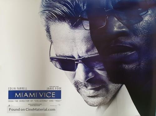 Miami Vice - British Movie Poster