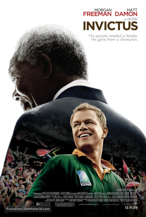 Invictus - Movie Poster