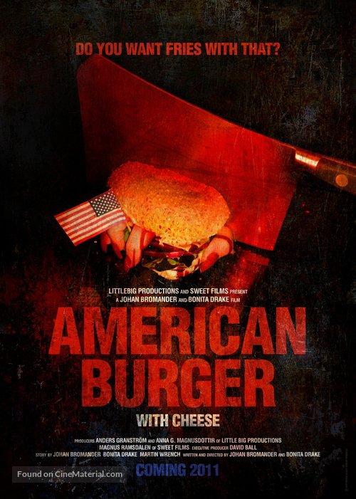 American Burger - Swedish Movie Poster