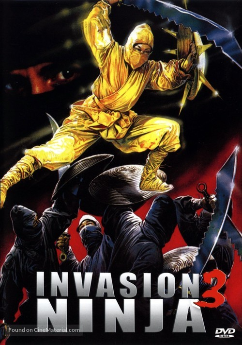Ninja III: The Domination - French Movie Cover