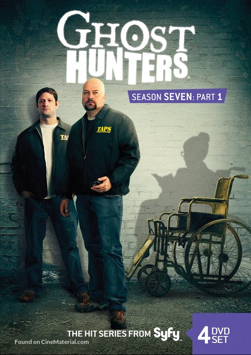 """""""Ghost Hunters"""" - Movie Cover"""
