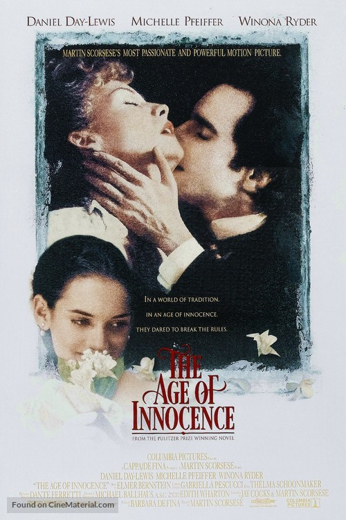 The Age of Innocence - Movie Poster