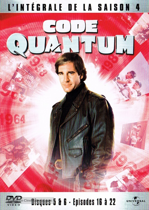 """""""Quantum Leap"""" - French DVD movie cover"""