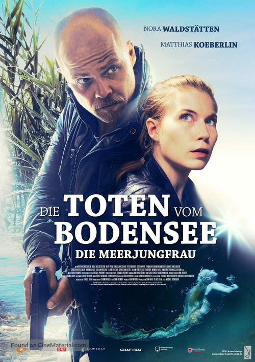 """Die Toten vom Bodensee"" - German Movie Poster"