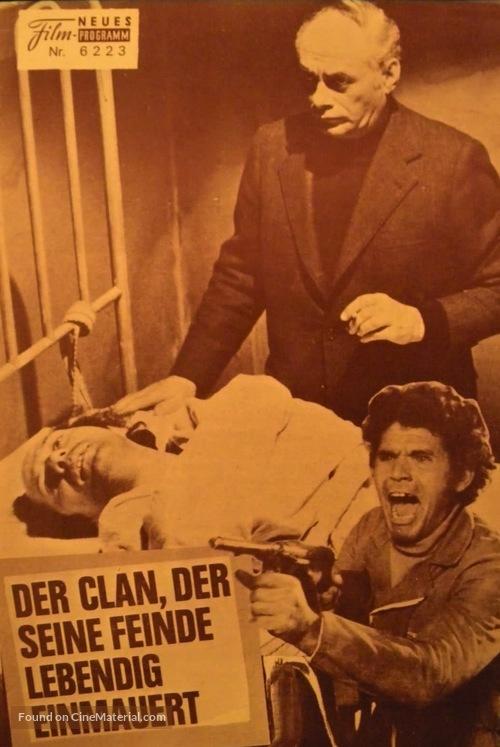 Confessione di un commissario di polizia al procuratore della repubblica - German Movie Poster