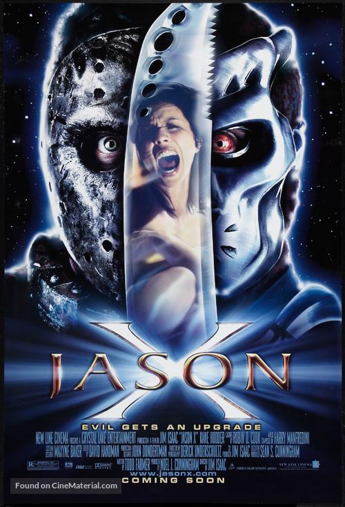 Jason X - Advance movie poster