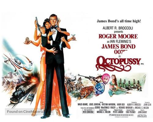 Octopussy - British Movie Poster