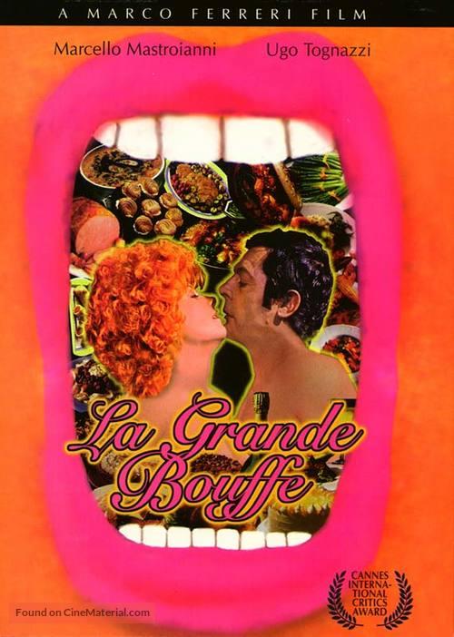 La grande bouffe - DVD movie cover