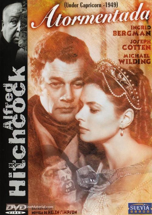 Under Capricorn - Spanish DVD movie cover