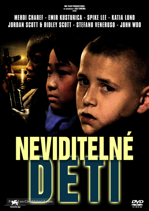 All the Invisible Children - Slovak DVD movie cover