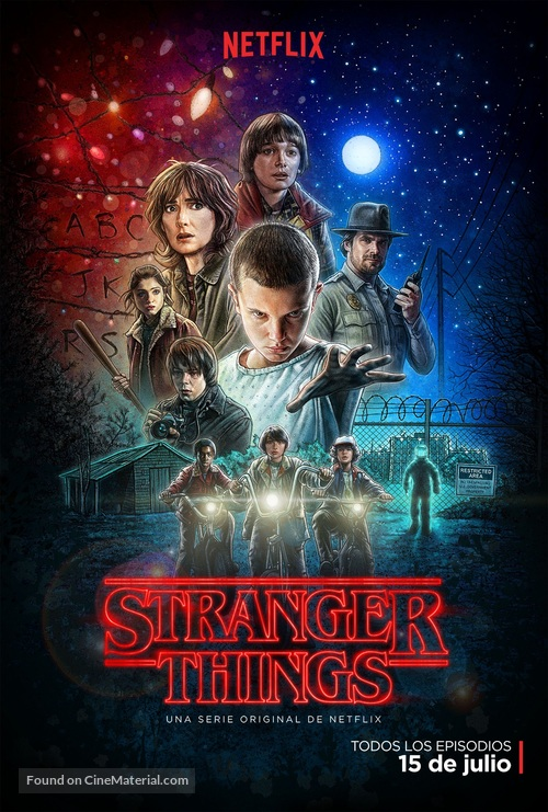 """""""Stranger Things"""" - Argentinian Movie Poster"""