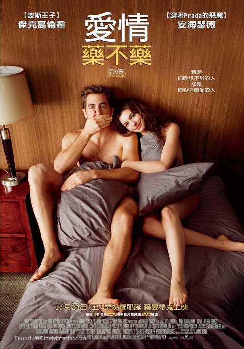 Love and Other Drugs - Taiwanese Movie Poster