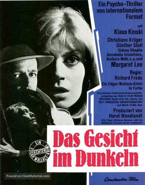 A doppia faccia - German Movie Poster