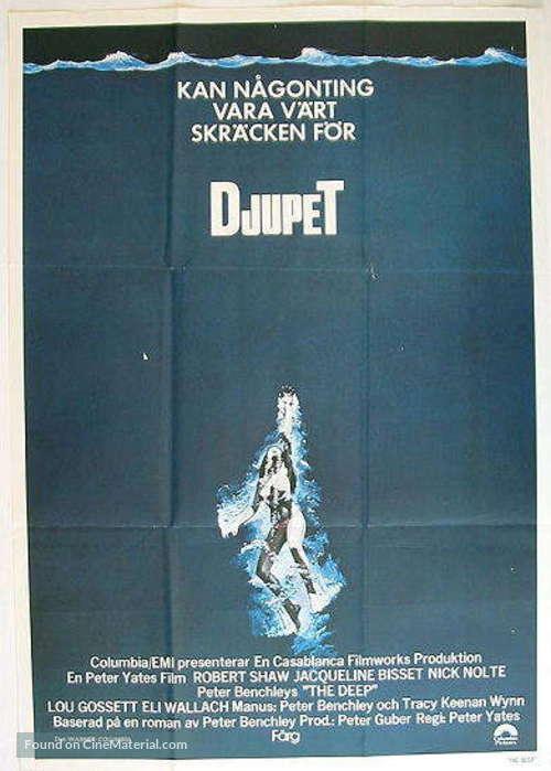 The Deep - Swedish Movie Poster