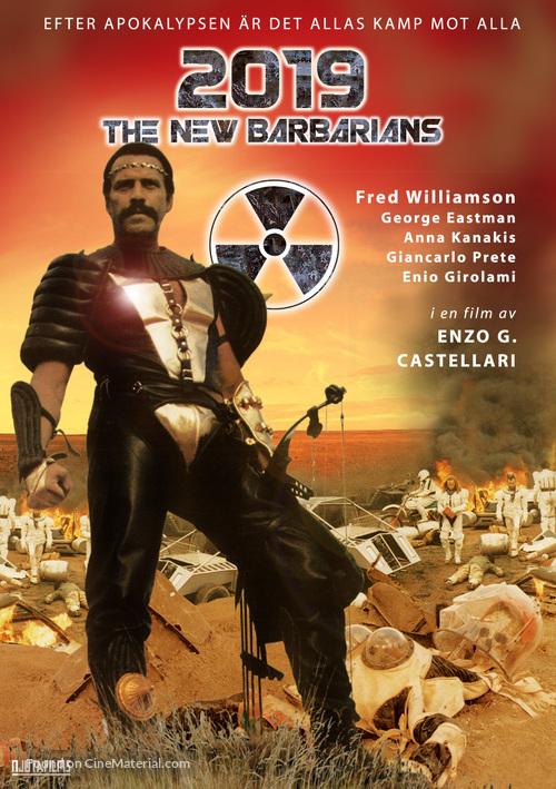 I nuovi barbari - Swedish DVD cover