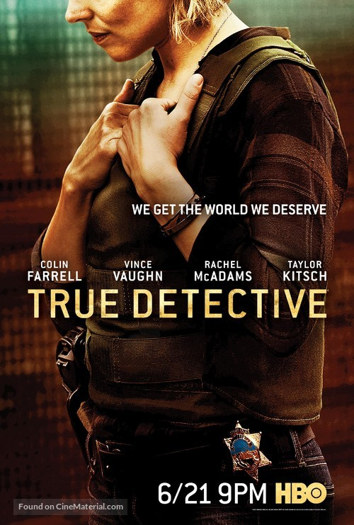 """True Detective"" - Movie Poster"