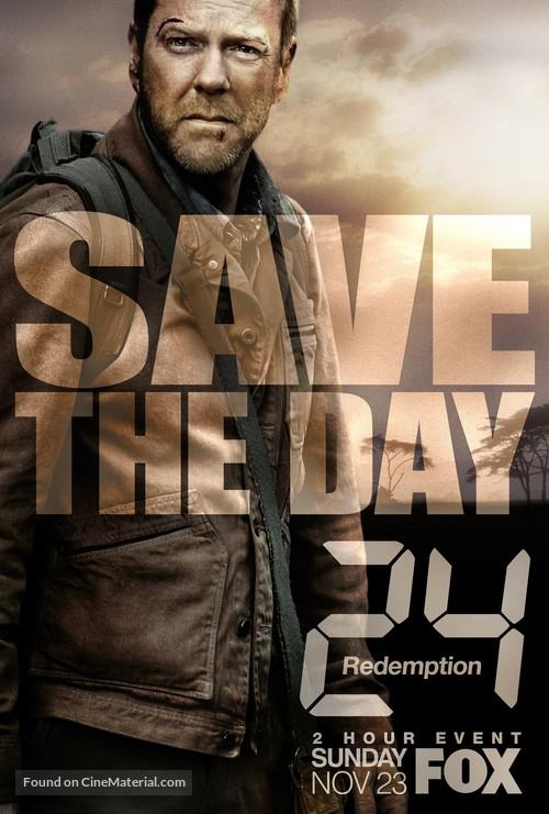 24: Redemption - Movie Poster