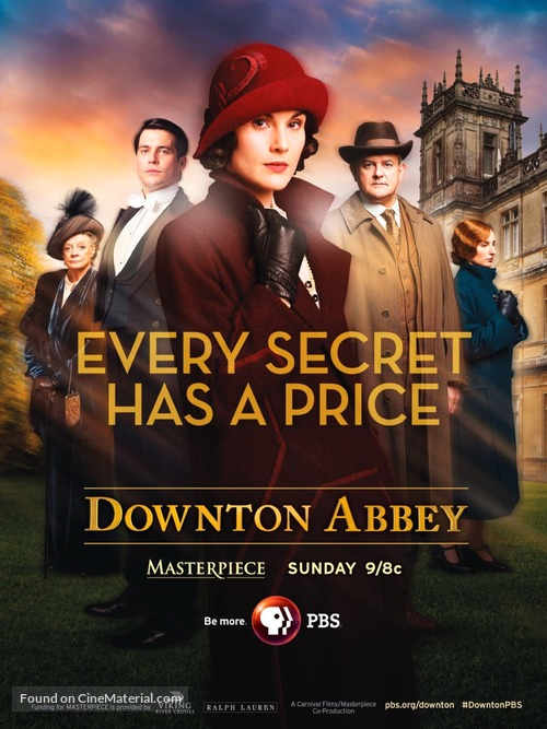 """Downton Abbey"" - Movie Poster"