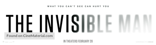 The Invisible Man - Movie Poster