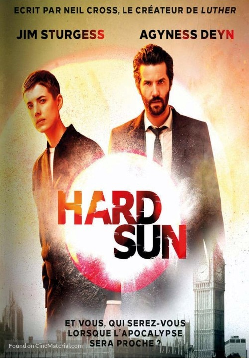 """""""Hard Sun"""" - French DVD movie cover"""