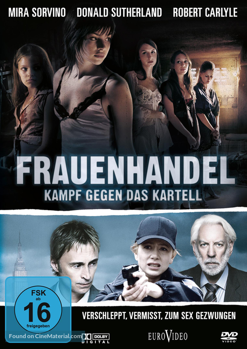 """Human Trafficking"" - German Movie Cover"