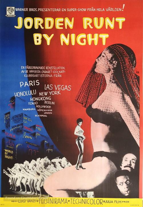 Il mondo di notte - Swedish Movie Poster