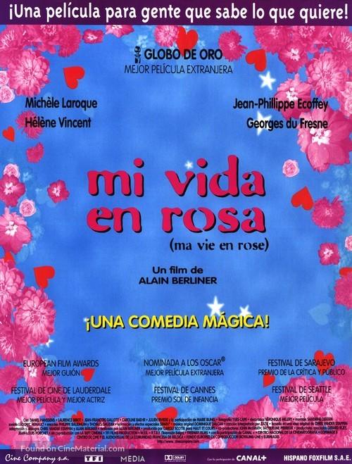 Ma vie en rose - Spanish Movie Poster