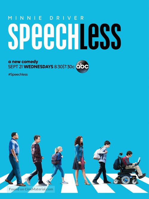 """Speechless"" - Movie Poster"