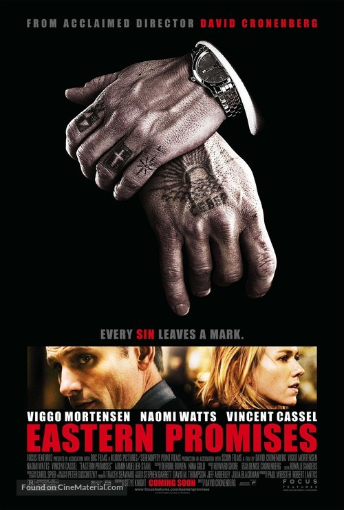 Eastern Promises - Advance movie poster