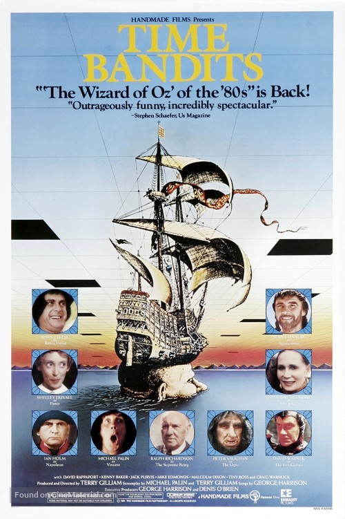 Time Bandits - Movie Poster