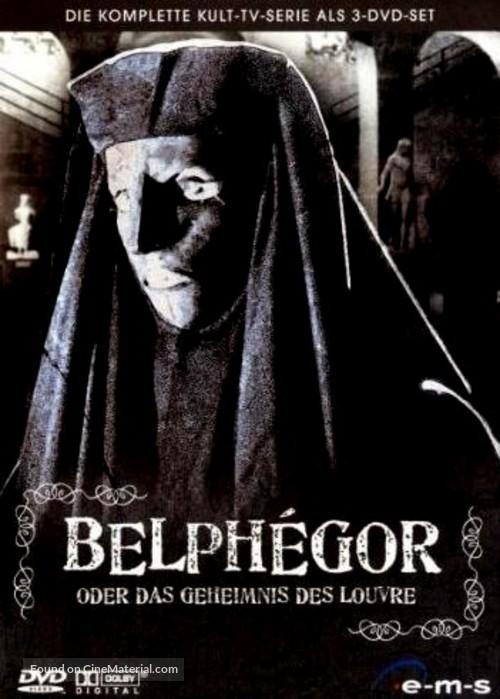 """""""Belphégor"""" - German Movie Cover"""
