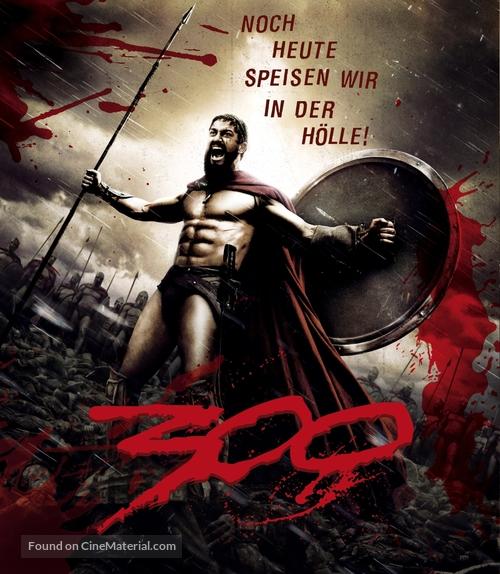 300 - German Blu-Ray movie cover