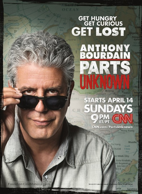 """Anthony Bourdain: Parts Unknown"" - Movie Poster"