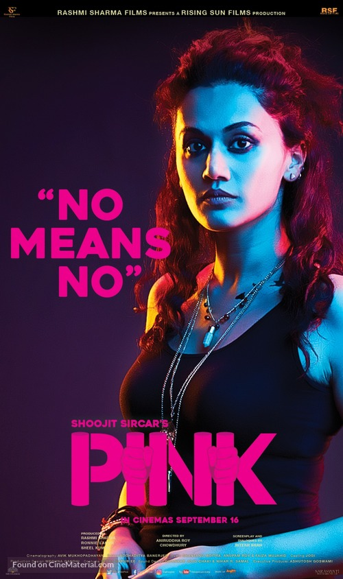 Pink (2016) Indian movie poster