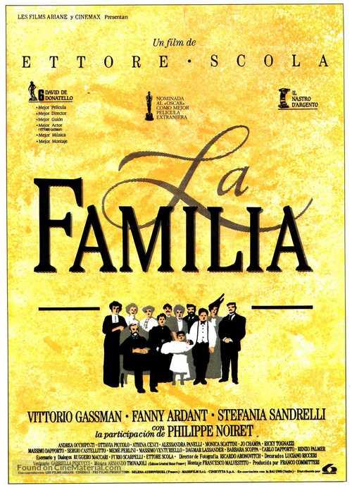 La famiglia - Spanish Movie Poster