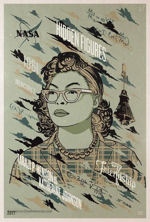 Hidden Figures - Movie Poster