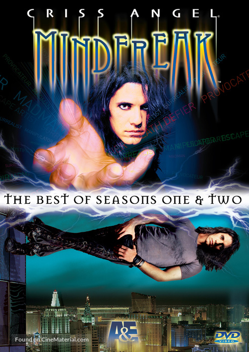 """Criss Angel Mindfreak"" - DVD movie cover"